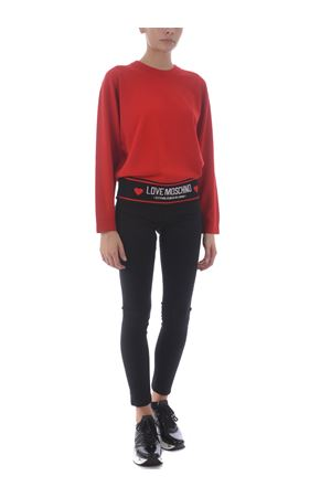 Love Moschino sweater in wool blend MOSCHINO LOVE | 7 | WS54GX1370-O86