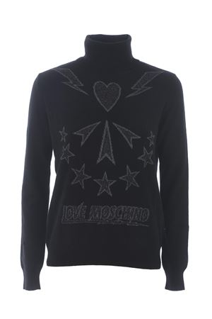 Moschino Love turtleneck in wool blend MOSCHINO LOVE | 7 | WSD1510XA100-4047