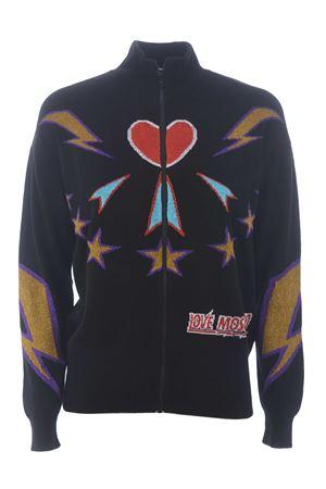 Love Moschino cardigan in wool and cashmere yarn MOSCHINO LOVE | 850887746 | WSH8010XA100-4048