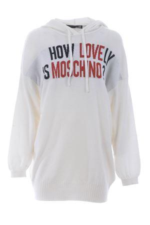 Love Moschino wool knit maxi pull MOSCHINO LOVE | 7 | WSL0910X0683-A00