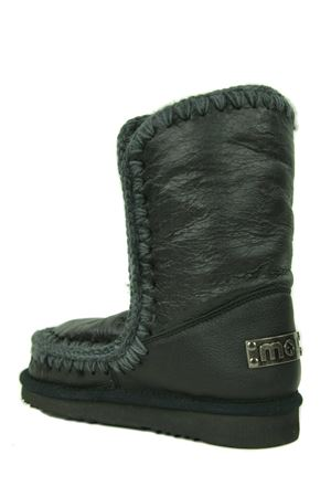 Mou Eskimo24 ankle boots in waxed crackle effect leather MOU | 76 | FW101000CWXB
