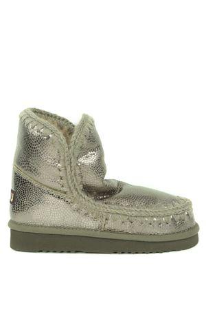 Mou Eskimo18 ankle boots in metallic nubuck MOU | 76 | FW101001BSPYC