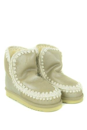 Mou Eskimo18 ankle boots in metallic nubuck MOU | 76 | FW101001BSTM