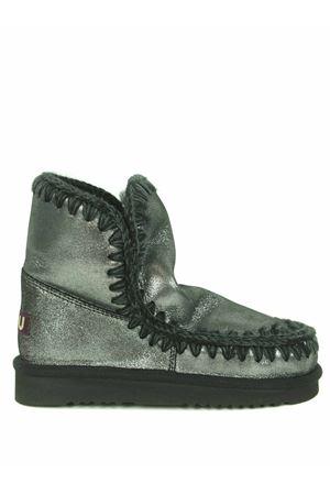 Mou Eskimo18 ankle boots in metallic nubuck MOU | 76 | FW101001CMGB