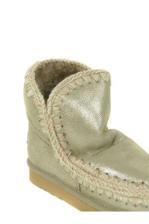 Mou Eskimo18 ankle boots in metallic nubuck MOU | 76 | FW101001CMGE