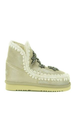 Mou Eskimo18 Crystal Star ankle boots in nubuck