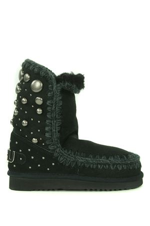 Mou Eskimo24 Back Studs suede ankle boots
