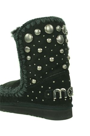 Mou Eskimo24 Back Studs suede ankle boots MOU | 76 | FW101008ABKB
