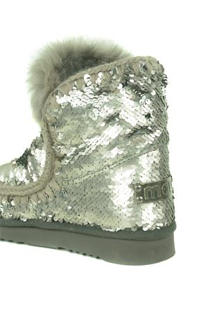 Stivaletti Mou Eskimo all sequins rabbit in camoscio MOU | 76 | FW101015GSEQ-GUN