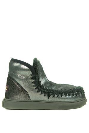 Mou Eskimo Sneaker ankle boots in metallic nubuck MOU | 5032245 | FW111000CMGB