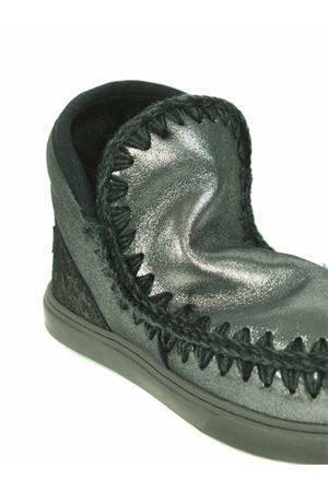 Stivaletti Mou Eskimo Sneaker in nabuk metallizzato MOU | 5032245 | FW111000CMGB