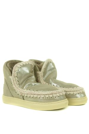Mou Eskimo Sneakers ankle boots in metallic nubuck MOU | 5032245 | FW111000CMGE