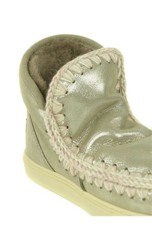 Stivaletti Mou Eskimo Sneakers in nabuk metallizzato MOU | 5032245 | FW111000CMGE