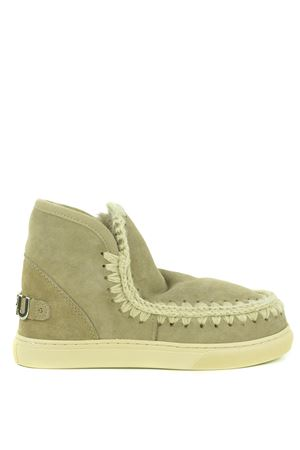Mou Eskimo Sneaker Big Metal suede ankle boots MOU | 5032245 | FW111008AELGR