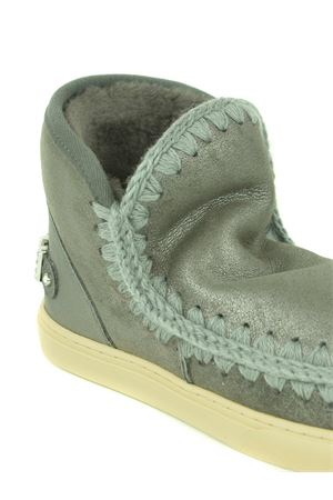 Mou Eskimo Sneaker Rhinestone leather ankle boots MOU | 5032245 | FW111020BDUIR
