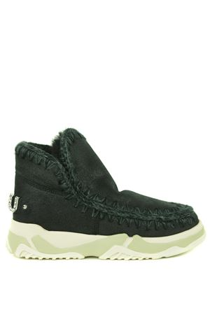 Mou Eskimo Trainer Logo leather ankle boots MOU | 76 | FW201013BCBK