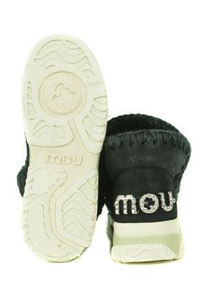 Mou Eskimo Trainer Logo leather ankle boots MOU | 76 | FW201013BCBK