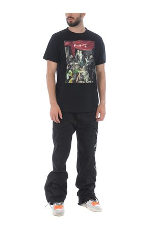Off White caravag painting slim cotton t-shirt OFF WHITE | 8 | OMAA027E20JER0081010