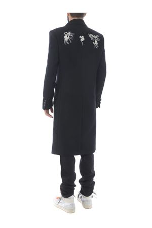 Off White ow logo long coat in wool blend OFF WHITE | 17 | OMER003E20FAB0011001