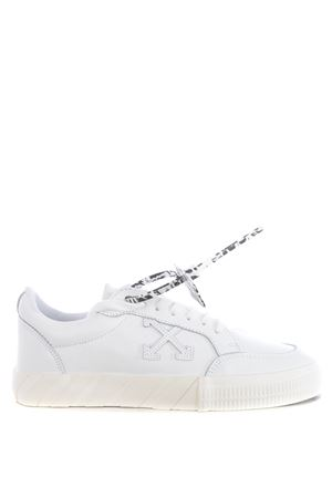 Off White low vulcanized leather men