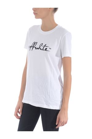T-shirt Off-White Script 21 casual in cotone OFF WHITE | 8 | OWAA049E20JER0070110