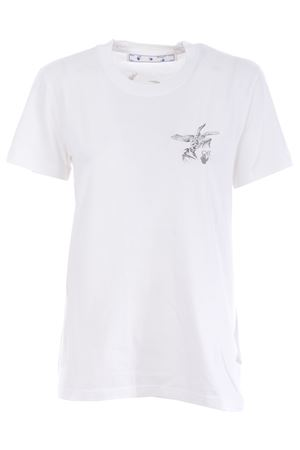 T-shirt Off White bird reflective in cotone OFF WHITE | 8 | OWAA049F20JER0050109