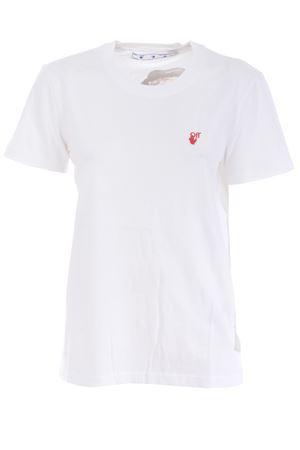 Off White red hand casual cotton t-shirt OFF WHITE | 8 | OWAA049F20JER0120125