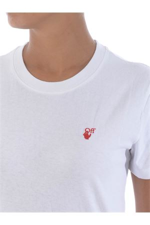 T-shirt Off White red hand casual OFF WHITE | 8 | OWAA049F20JER0120125