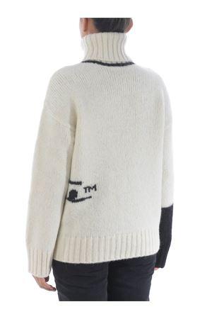 Maglione Off White logo intarsio OFF WHITE | 7 | OWHF008E20KNI0010110