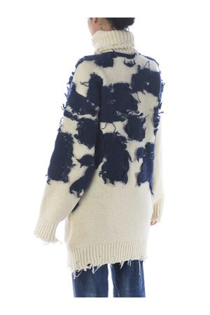 Maglione Off White moo turtleneck in misto lana e mohair OFF WHITE | 7 | OWHF013F20KNI0016145