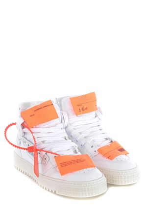 Sneakers donna hi-top Off-White 3.0 court OFF WHITE | 5032245 | OWIA112E20LEA0010100