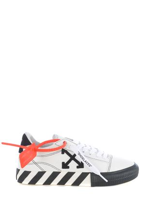 Sneakers donna Off White new arrow low vulcanized in pelle scamosciata OFF WHITE | 5032245 | OWIA216E20LEA0010110