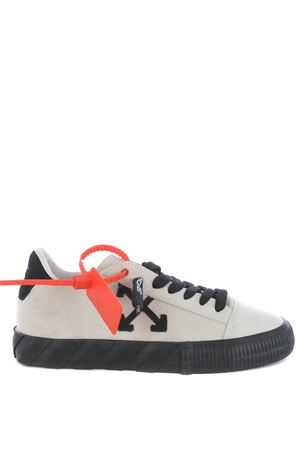 OFF WHITE Low Vulcanize sneaker in suede OFF WHITE | 5032245 | OWIA216F20LEA0010110
