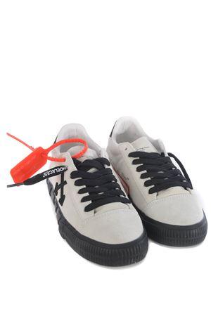 Sneaker OFF WHITE Low Vulcanize in camoscio OFF WHITE | 5032245 | OWIA216F20LEA0010110