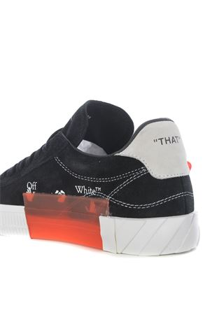 Sneaker OFF WHITE Low Vulcanize in camoscio OFF WHITE | 5032245 | OWIA216F20LEA0011001