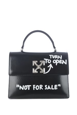 Off-White turn to open jitney 2.8 leather bag OFF WHITE | 31 | OWNA090E20LEA0011001