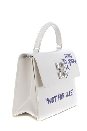 Off-White quote jitney 2.8 leather bag OFF WHITE | 31 | OWNA090F20LEA0030335