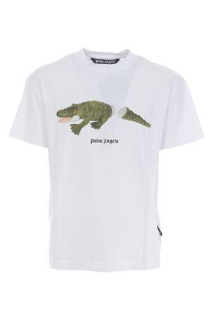 T-shirt Palm Angels croco PALM ANGELS   8   PMAA001E20JER0130155