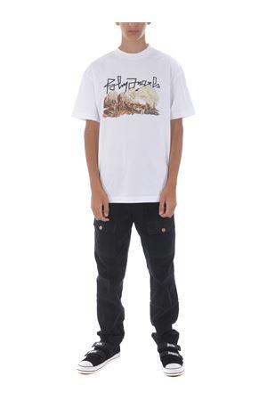 Palm Angels desert skull cotton t-shirt PALM ANGELS | 8 | PMAA001F20JER0070184