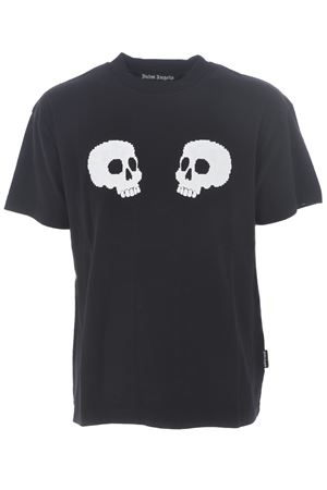 Palm Angels skulls cotton T-shirt PALM ANGELS | 8 | PMAA001F20JER0111001