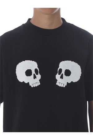 Palm Angels skulls cotton T-shirt PALM ANGELS | 8 | PMAA001F20JER0111001