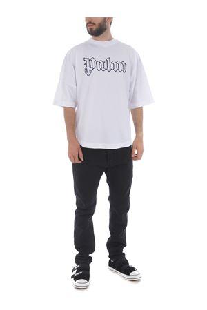 T-shirt Palm Angels blank logo over PALM ANGELS   8   PMAA002E20JER0020178