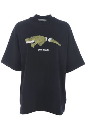 Palm Angels croco over cotton over T-shirt PALM ANGELS | 8 | PWAA017F20JER0051055