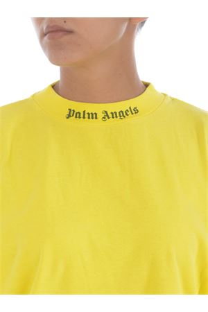 Palm Angels cotton garment dye logo T-shirt PALM ANGELS | 8 | PWAA023F20JER0021810