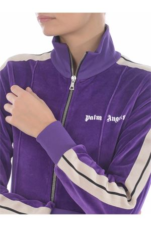 Palm Angels sweatshirt in chenille. PALM ANGELS | 10000005 | PWBD022F20FAB0023701