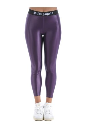 Palm Angels leggings in coated lycra