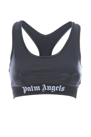 Palm Angels sports top classic logo sport bra in lycra PALM ANGELS | 40 | PWFA009F20FAB0011001