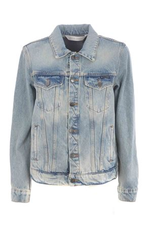 Palm Angels over logo denim jacket PALM ANGELS | 13 | PWYE011F20DEN0014001
