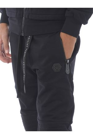 Philipp Plein institutional jogging trousers in cotton PHILIPP PLEIN | 9 | MJT1653PJO002N-02