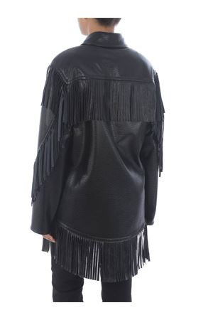 Philosophy di Lorenzo Serafini oversize faux leather jacket PHILOSOPHY | 18 | A05045742-555